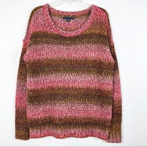 American Eagle Outfitters Striped Knit Sweater